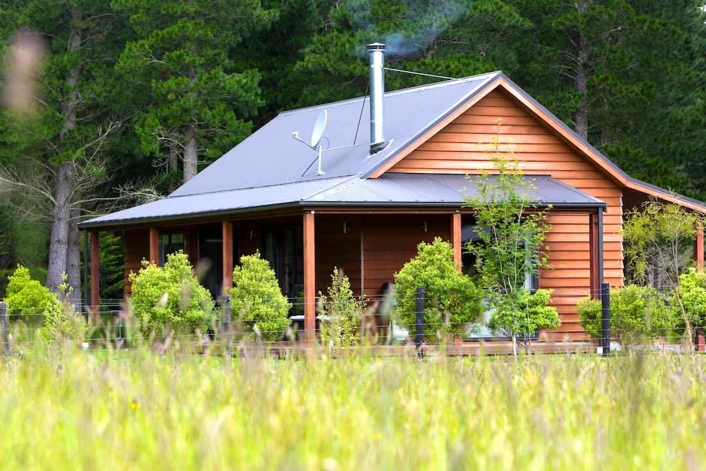 WOODBANK PARK COTTAGES. - Hanmer Springs - Alpehytte