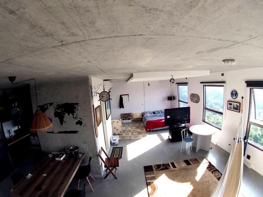 Apartment between Itajai and BC. - Itajaí - Loteng Studio