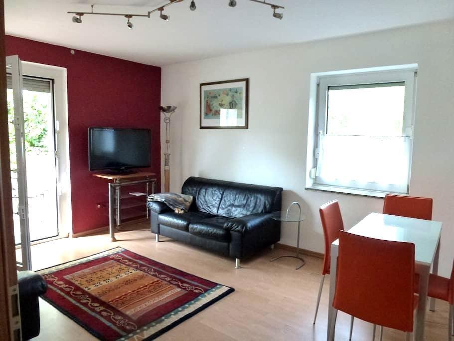 Quiet 3-room city & fair apartment - Düsseldorf - Departamento