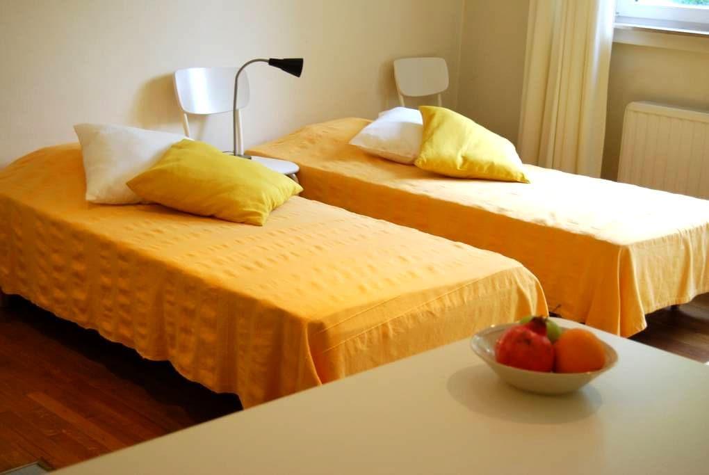 Big, cozy and quiet room - Brussels - Rumah