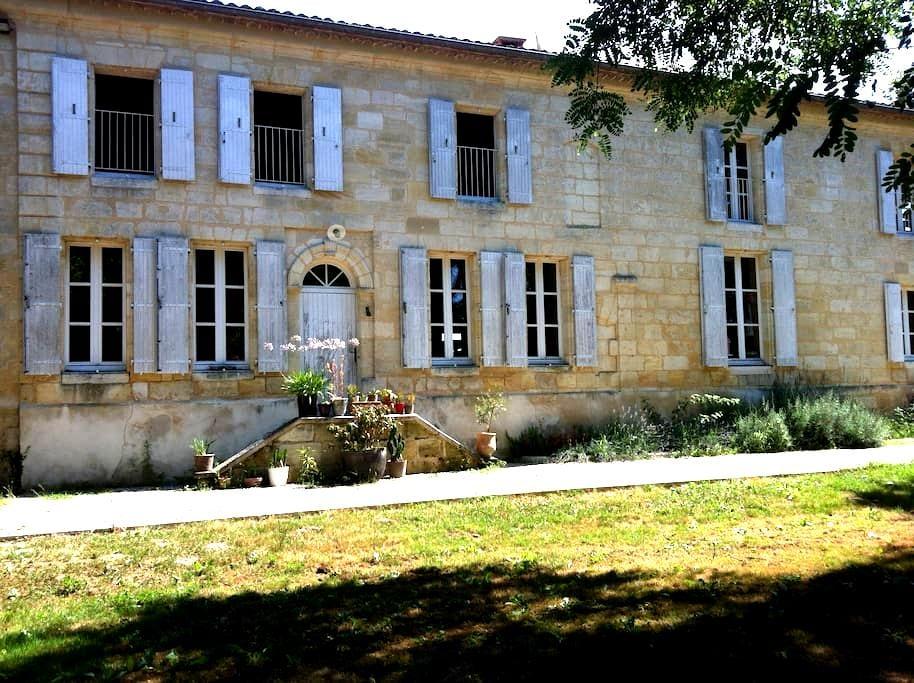 Chambre d'hôtes des 2 rivières - Coutras - Vendégház