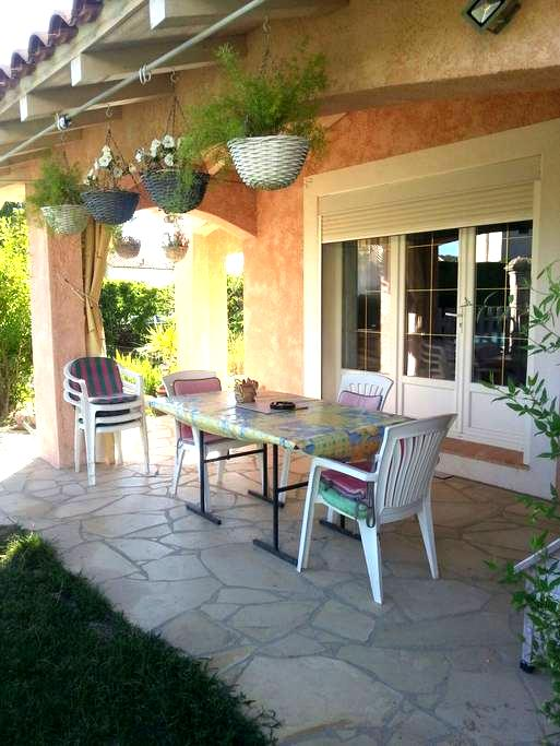 Chambre +s d'eau villa plein pieds - Caveirac - Casa de campo