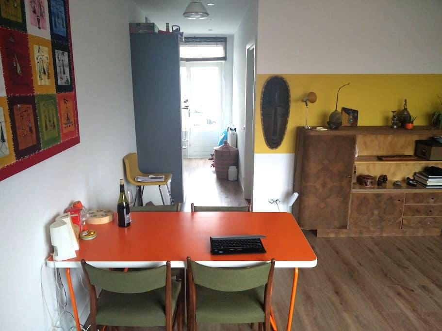 Freshly renovated room wt sunny balcony in Lombok - Utrecht - Byt