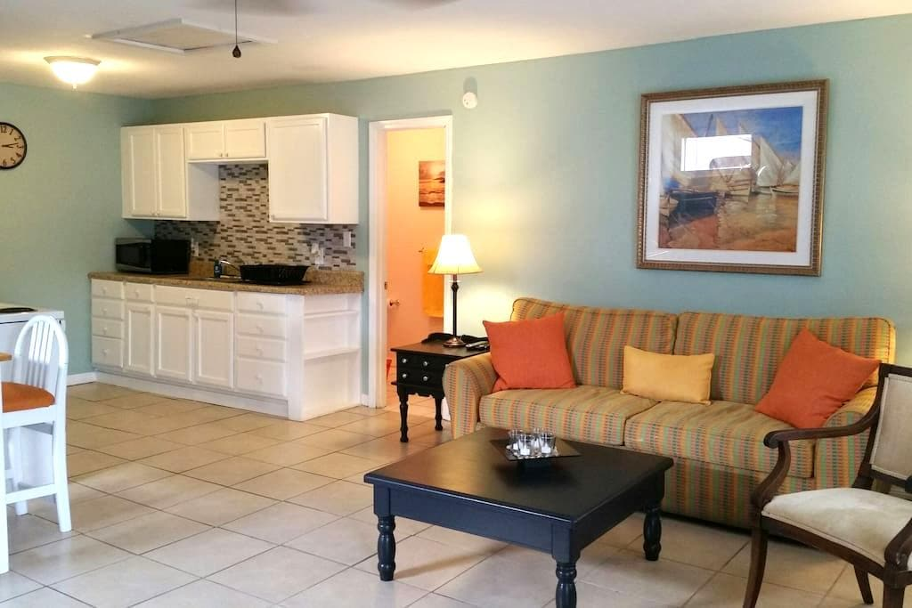 Adorable 1 bedroom apartment centrally located - Daytona Beach - House