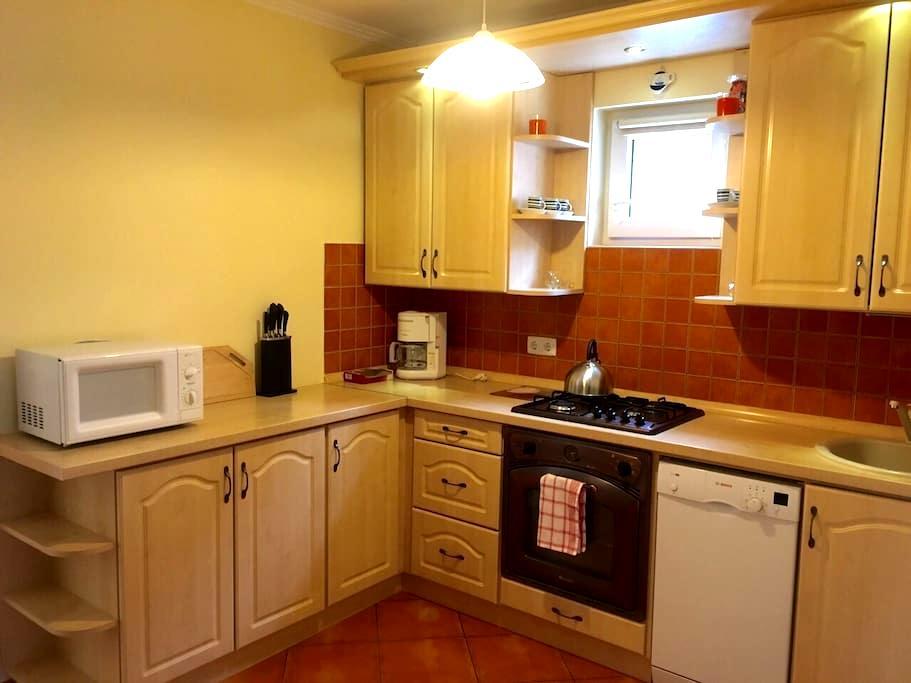 "Family 2-rooms ""Orange"" Apartment - Hévíz - House"
