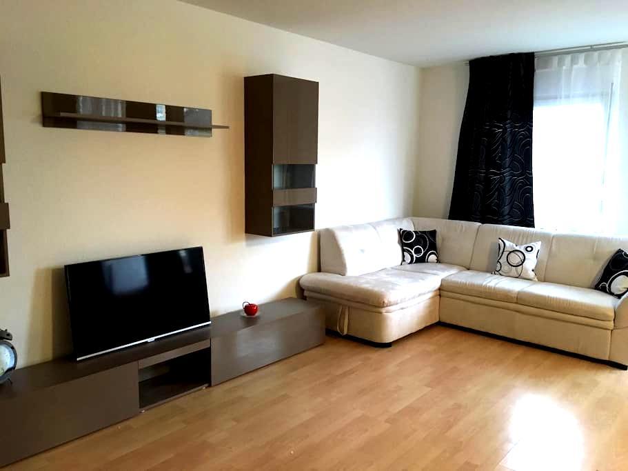 Schöne Wohnung im Zentrum / lovely apartment - Weil am Rhein - Apartemen