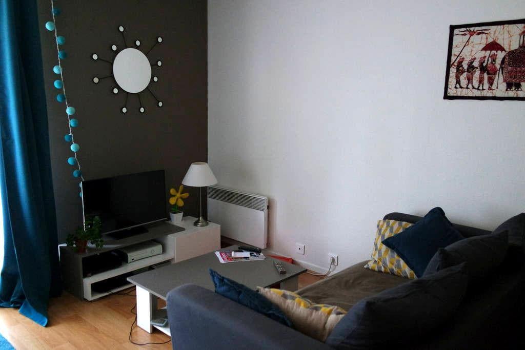 Grand studio lumineux avec balcon - Le Vésinet - Appartement