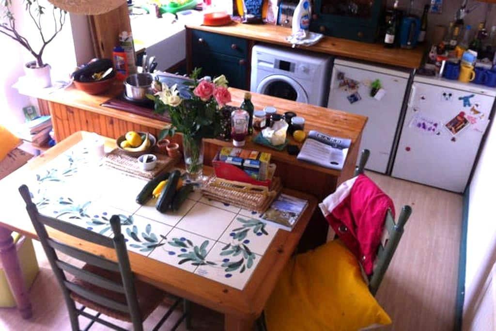 Woodburner - Sarah's double room. - Bristol - House