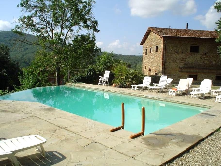 Country House with pool in Tuscany - Pieve A Presciano