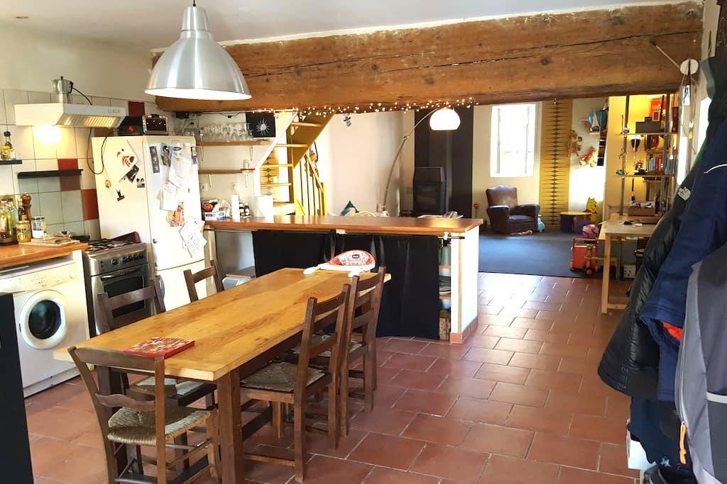 Maison cosy au pied du Vercors - Saint-Jean-en-Royans