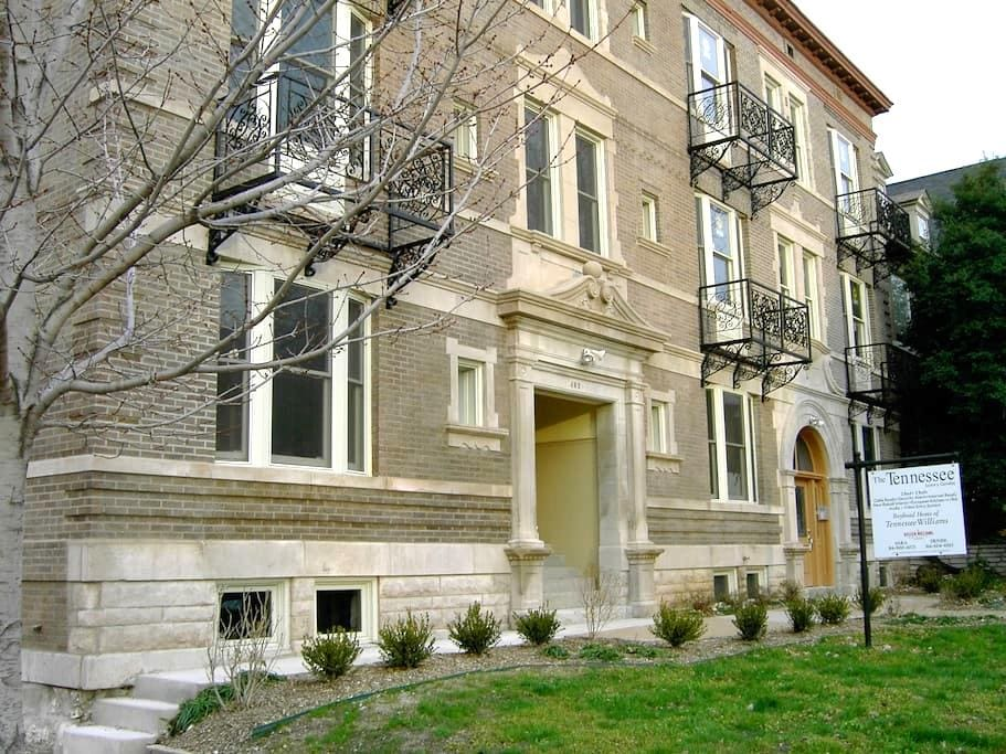 Luxury 2BD/2BH in Historic CWE/3E M - St. Louis - Byt