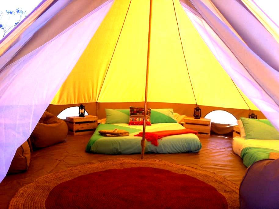 Unique Luxury camping Tent 1 - Augusta - Tält