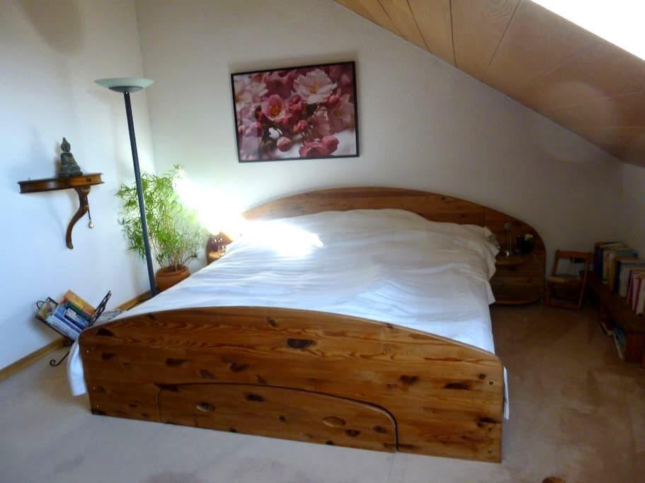 cosy and spacious attic story - Leverkusen - 独立屋