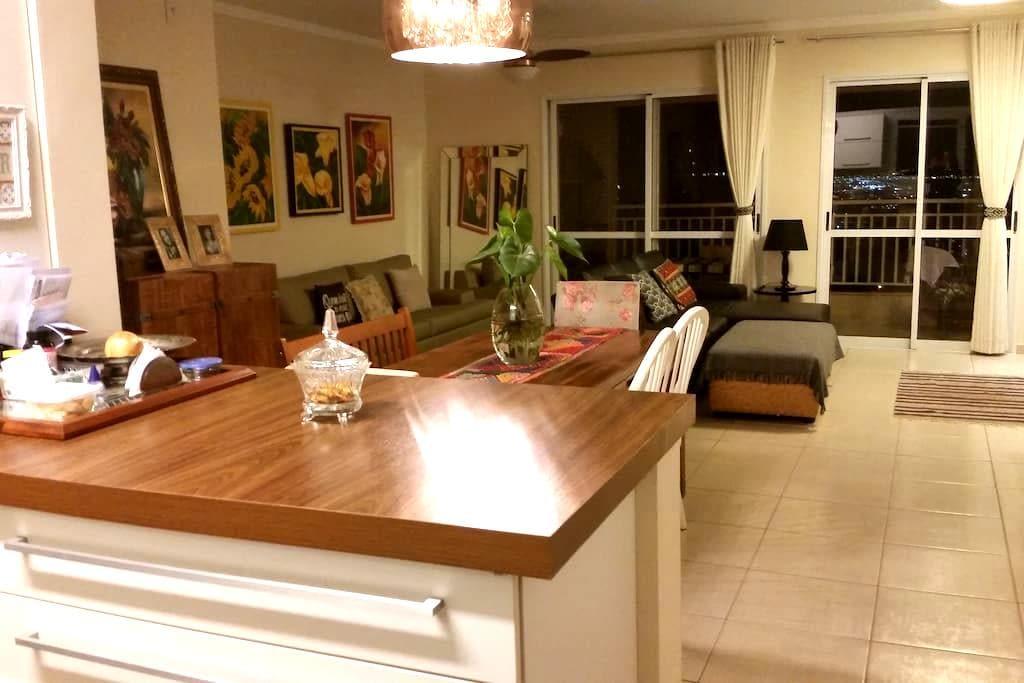 Suite em apto amplo e moderno - Ribeirão Preto - Apartment