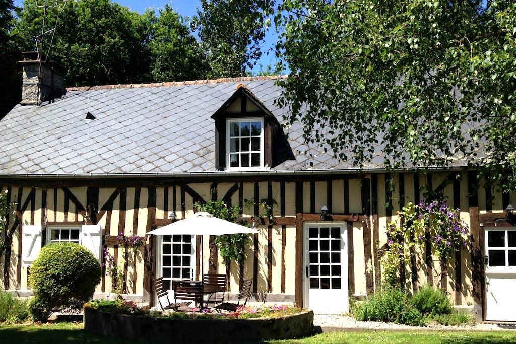 18th Century Cottage, log burner, free wifi - Rouelle - Casa