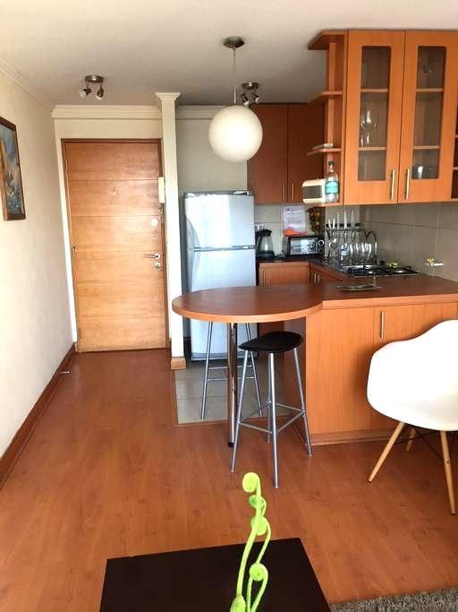Departamento full amoblado - Recoleta - Apartment