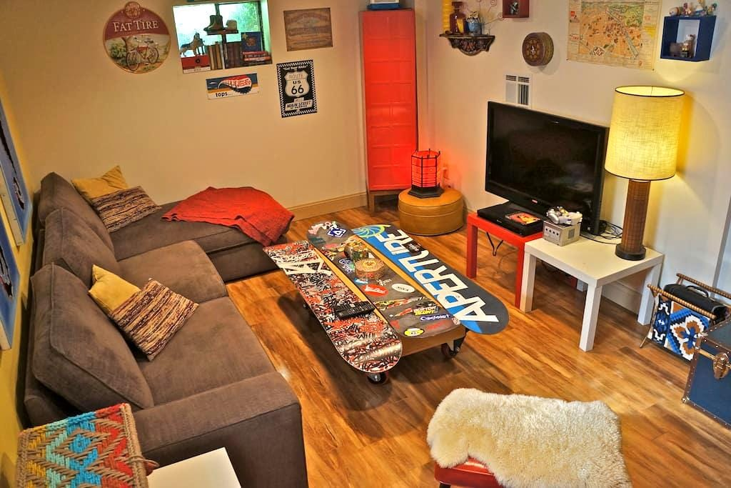 Cozy Sofa-Lounger Close to Downtown - Salt Lake City - House