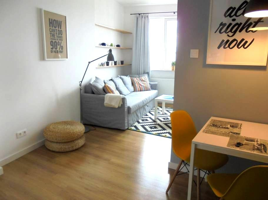 Nice flat close to center - Warszawa - Apartemen