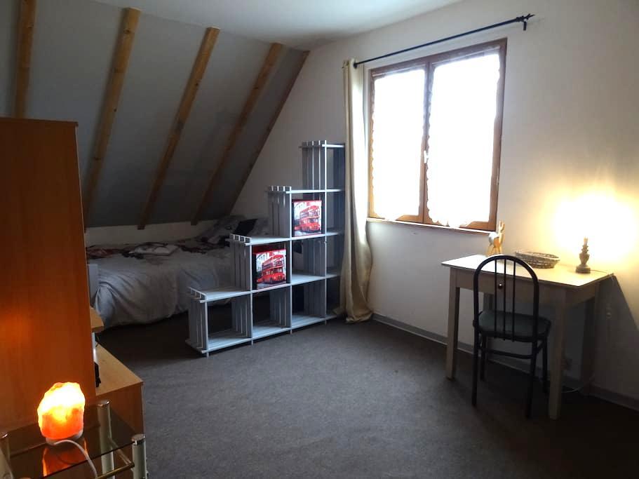 Chambre pour 2 à 4 personnes au cœur de l'Alsace - Heidolsheim - House
