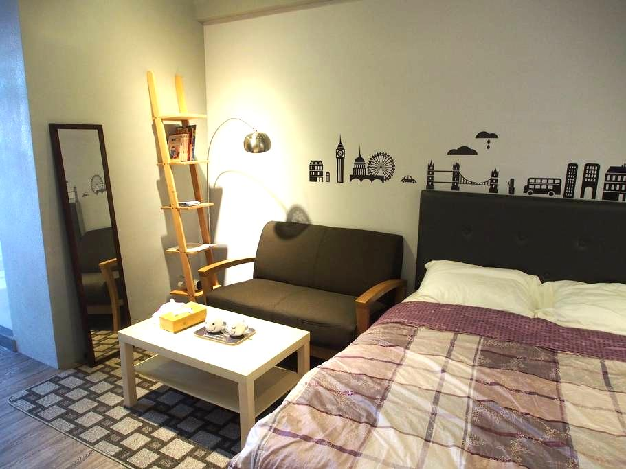 Studio in center of Tainan - East District