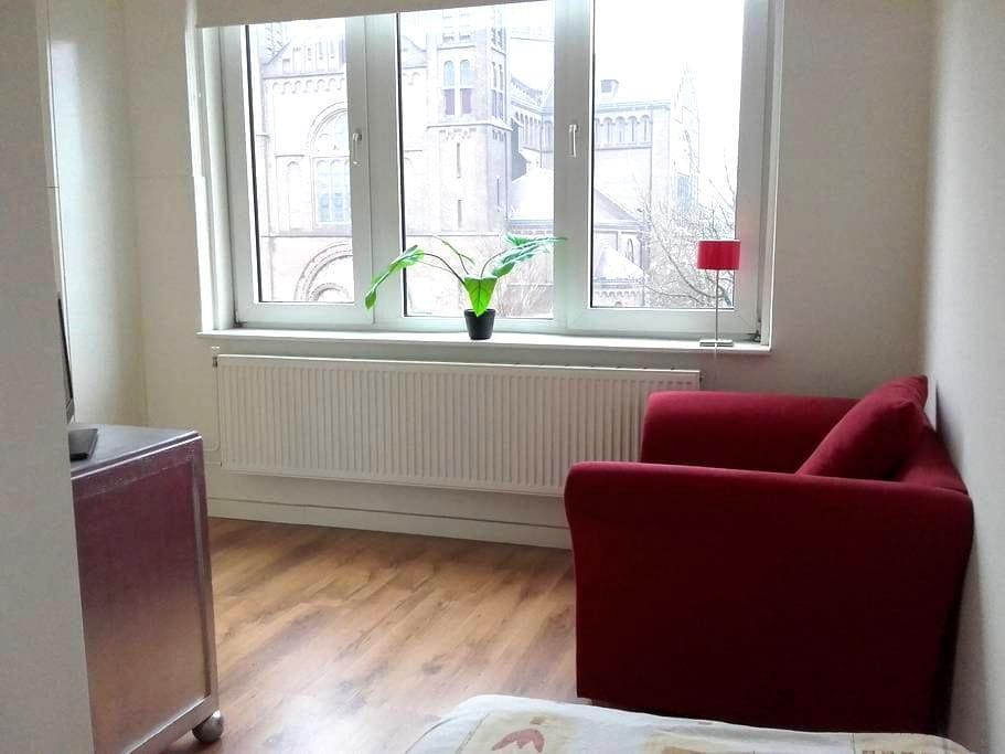 Licht, gezellig kamertje in centrum - Nijmegen - Appartement