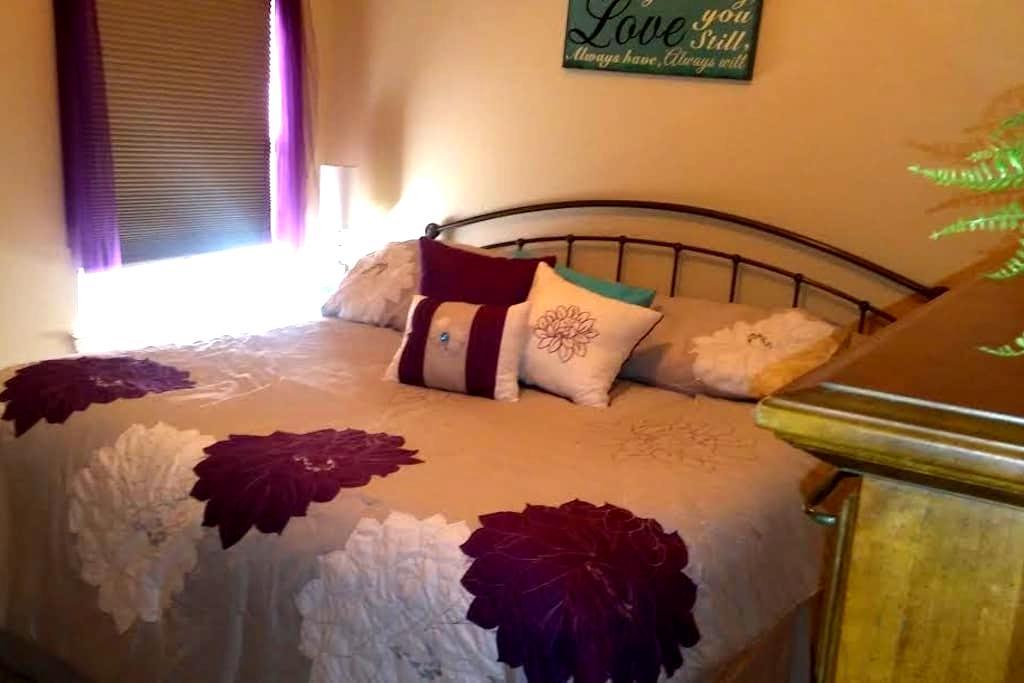 Friendly Room w/ King Bed - Roanoke