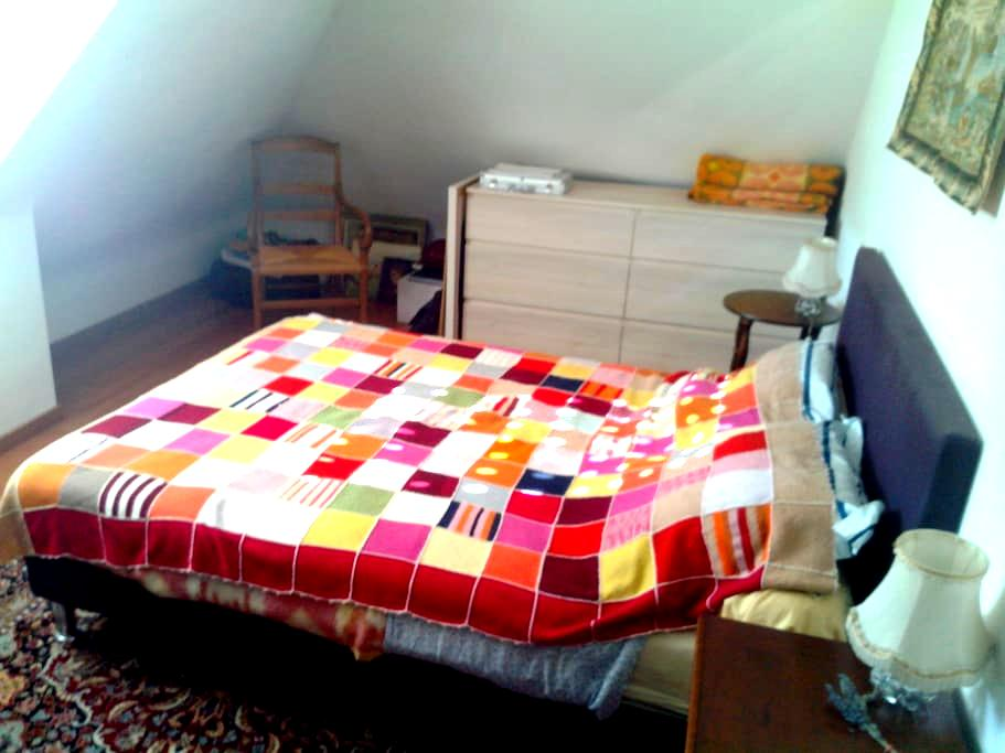 Chambre privée pour 2  dans maison au calme - Hennebont - House