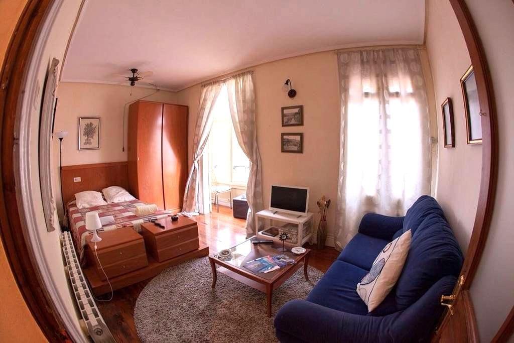 Habitación luminosa en el centro - Bilbao - Ev