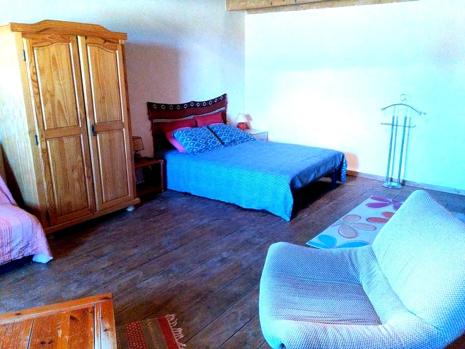 Chambre 30m2 dans ferme lauragaise - Saint-Félix-Lauragais - House