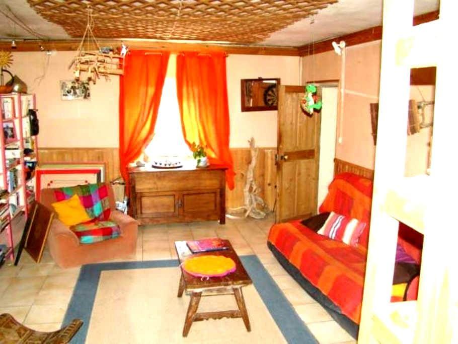 chambre dans maison avec jardin - Saint-Martin-de-Valgalgues