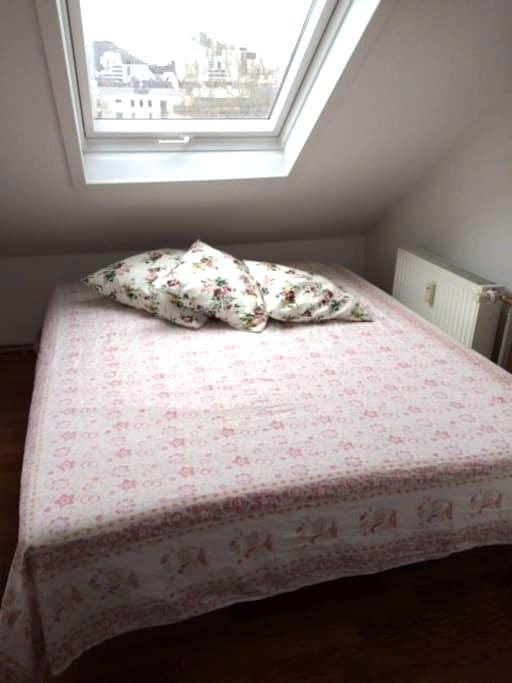 Cosy bed in connecting room - Frankfurt - Wohnung
