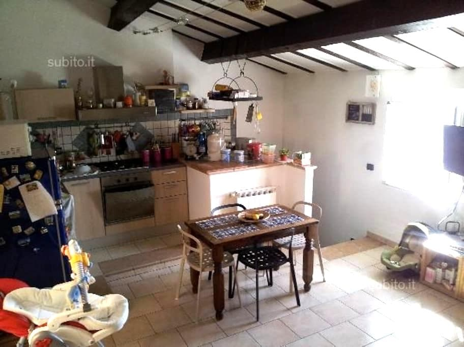 Casa nel Borgo con vista mare e monti - Vezzano Ligure - Hus