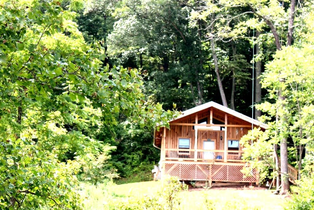 peaceful cabin with amazing views - Leicester - Chalet