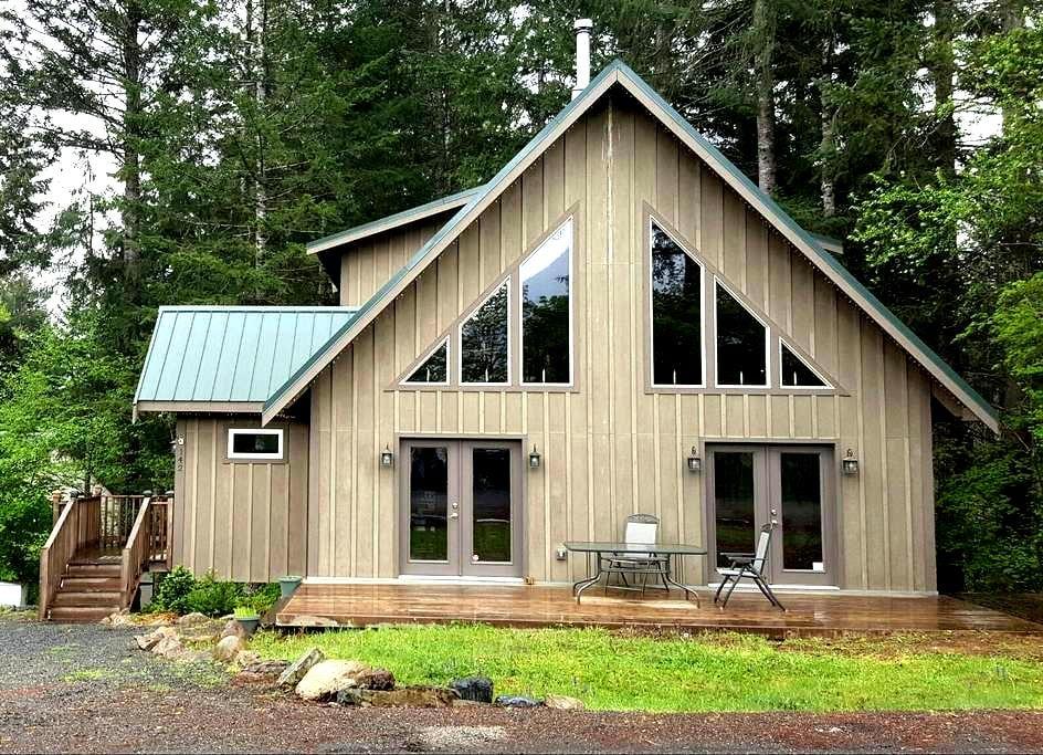 Elk Run Lodge - Hot tub / WiFi / AC - Packwood - Haus
