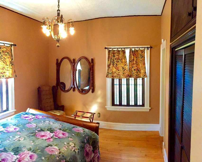 Quaint Suite in Historic Sunny Lake Bemidji Home - Bemidji - 独立屋