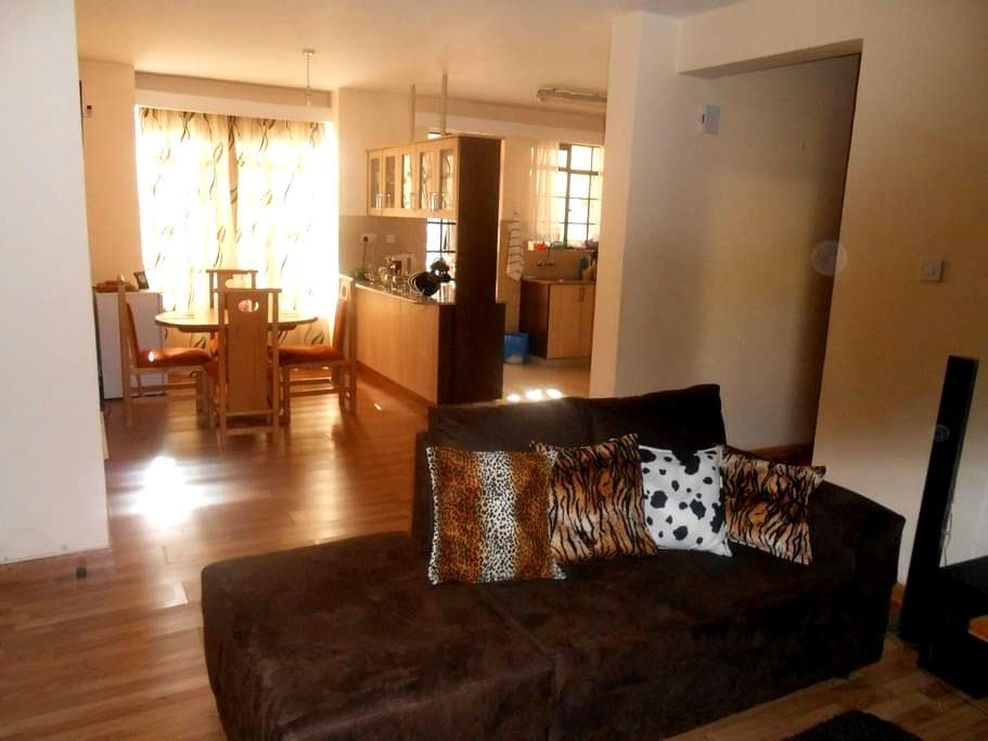 2 Comfortable Rooms In an Apartment Near the City - Nairobi - Apartament