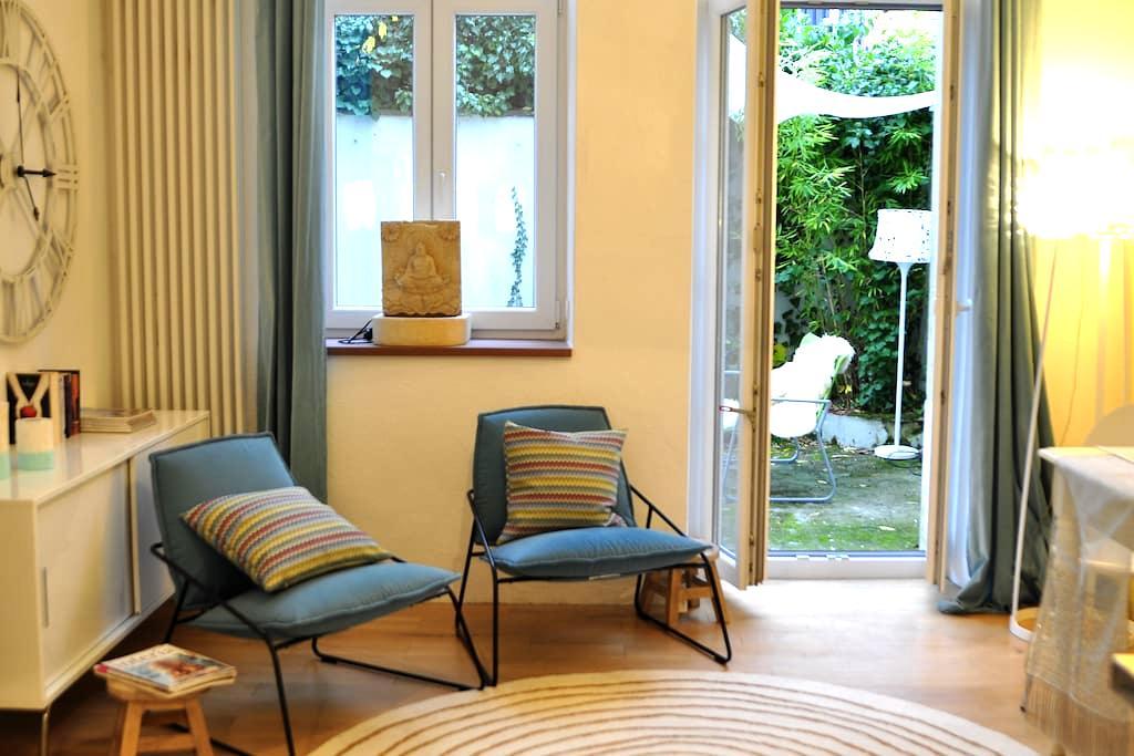 Gartenwohnung in Jugendstilvilla - Heidelberg - Apartamento