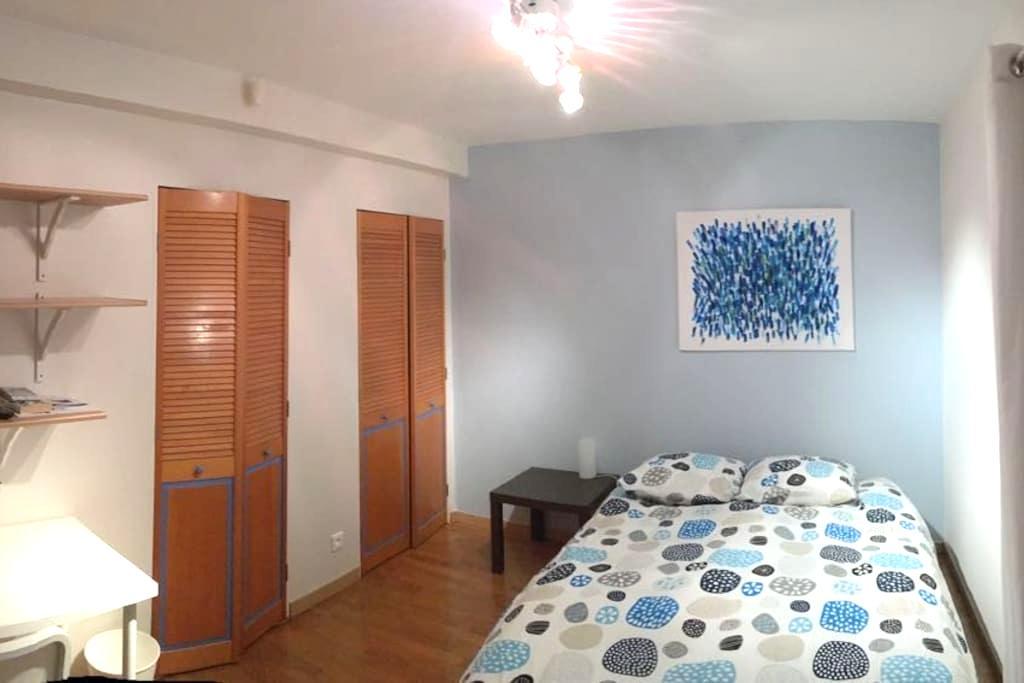 Chambre, SDB et terrasse privative -  18 m2 - ESC - Saint-Grégoire - Huis