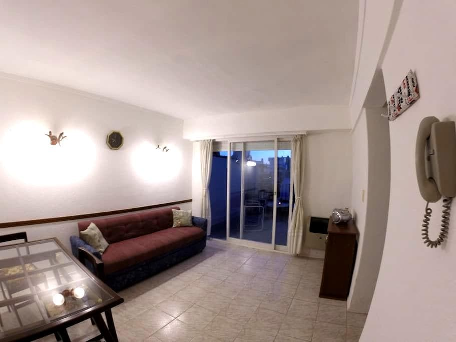 Near the sea and downtown, with a big terrace - Mar del Plata