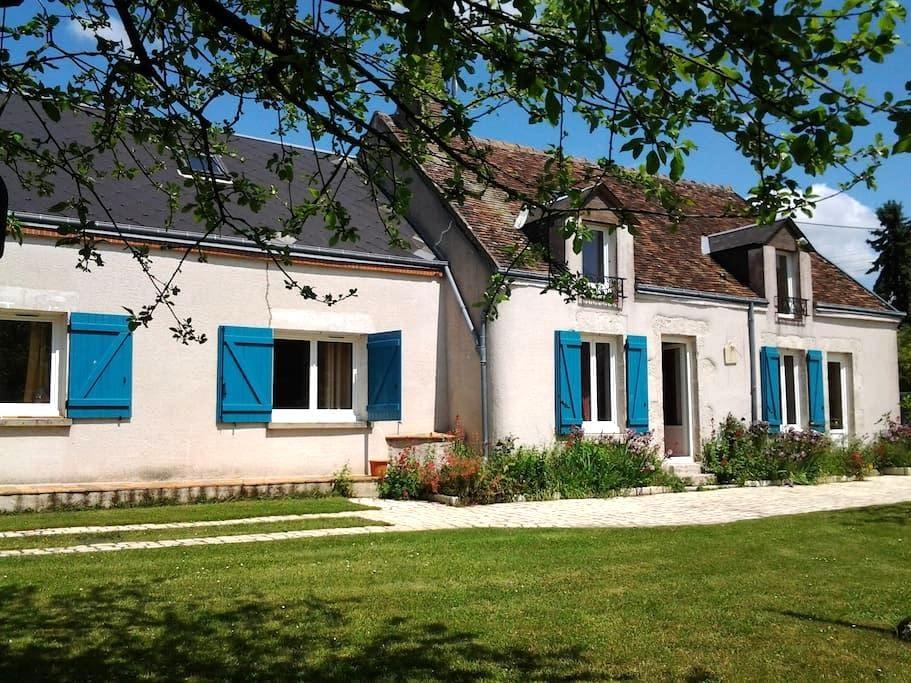 Etage de Longére aux portes de Chambord - Talcy - Casa