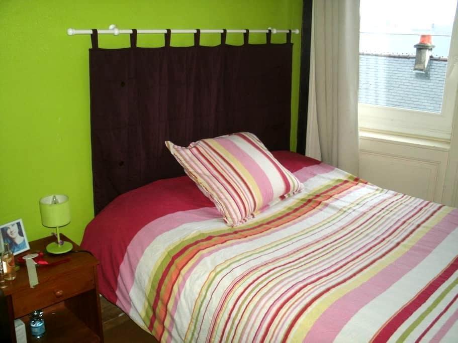 chambre dans logement en ville - Cherbourg-Octeville - Dom