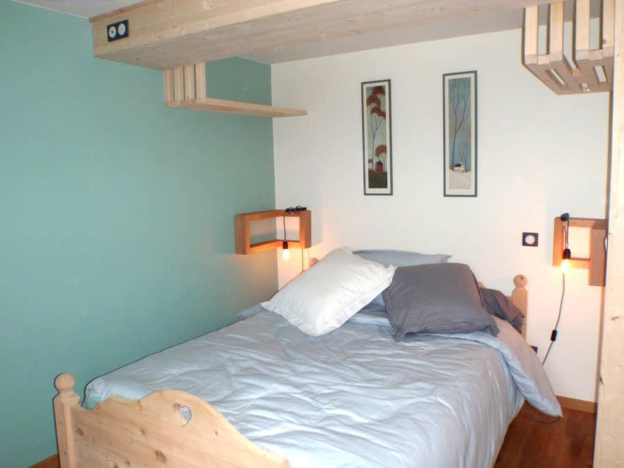 Chambre douillette face au Mont Blanc - Cordon - House