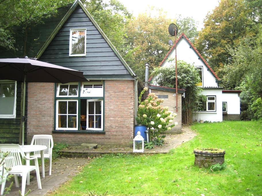 Veluws huisje met prachtige tuin - Beekbergen - Kisház