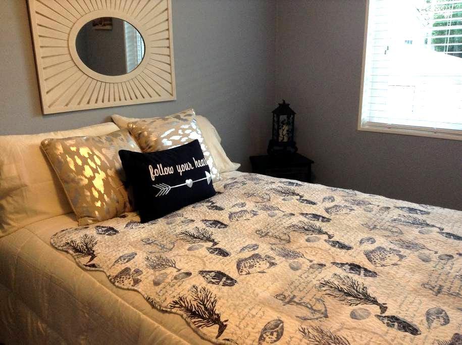 Very clean comfortable room &bath - Sunnyvale - Casa