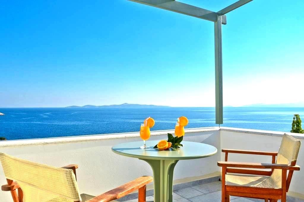 Kalados Studios - Sea view complex - Naxos - 아파트