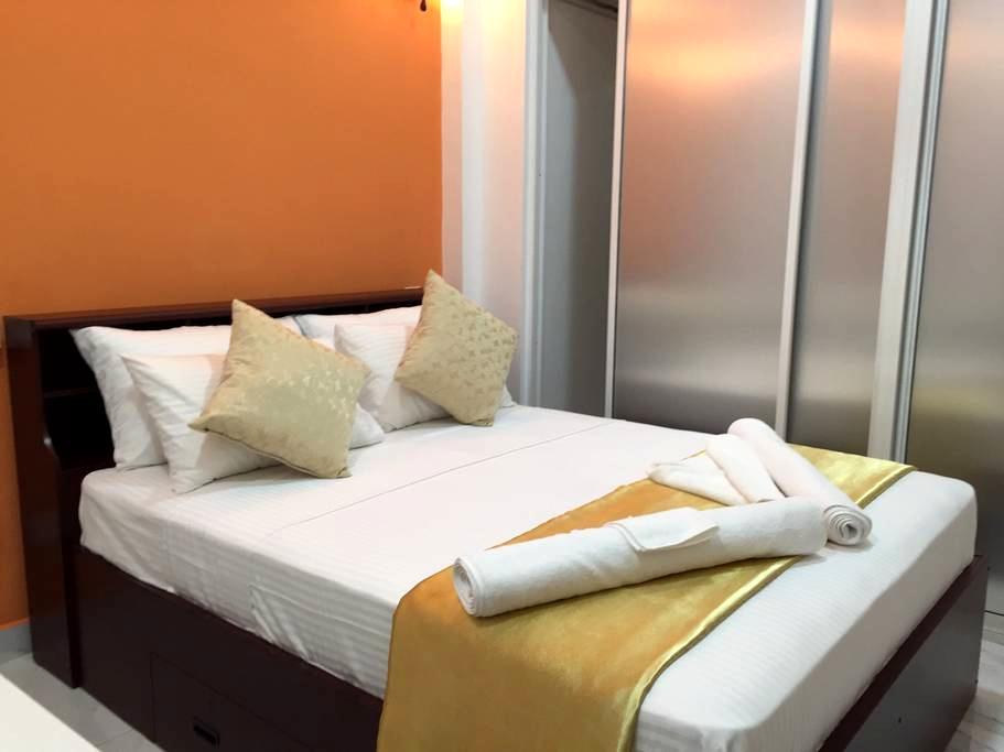 EnsuiteQueen Walk2Beach B'Fast Wifi - Negombo - Bed & Breakfast