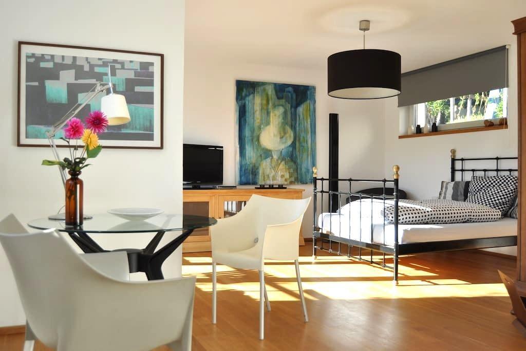 very nice modern aircon-apartment - Eppstein - Pis