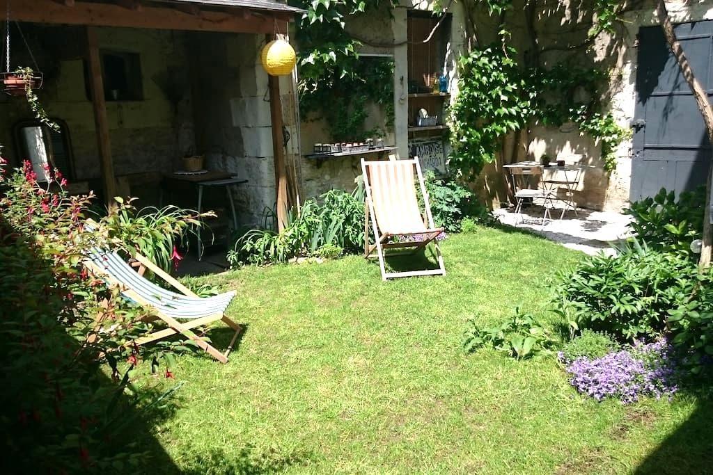 Touraine Val de Cher maison+jardin - Bléré - Dům