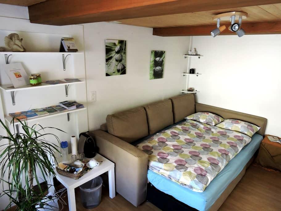 Gemütliches Zimmer, leckeres Frühstück & Parkplatz - Oberurnen - Bed & Breakfast