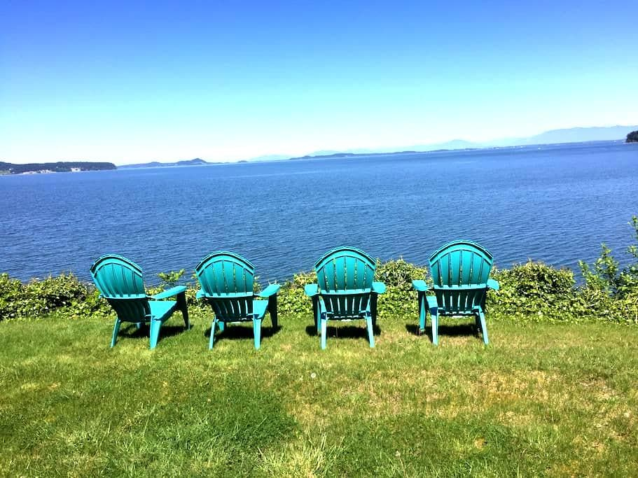 Stunning Views - Master Retreat - Camano Island - Hus